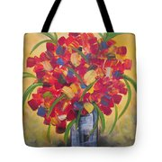 The Vase Tote Bag by Molly Roberts