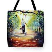 The Vintner Tote Bag by Meaghan Troup