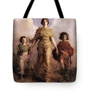 The Virgin Tote Bag by Abbott Handerson Thayer