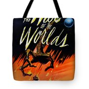 The War Of The Worlds Tote Bag by Georgia Fowler