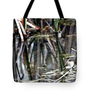 The Watch Tote Bag by Elizabeth Winter