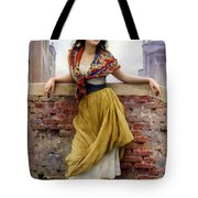 The Water Carrier Tote Bag by Eugene de Blaas