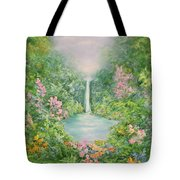 The Waterfall Tote Bag by Hannibal Mane