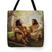 The Way of Joy Tote Bag by Greg Olsen