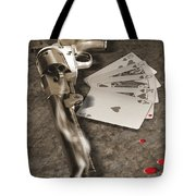 The Way Of The Gun 2 Tote Bag by Mike McGlothlen