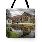 The Welsh Abbey Tote Bag by Adrian Evans