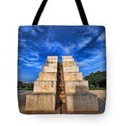 The White City Tote Bag by Ron Shoshani