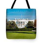 The White House Tote Bag by Greg Fortier
