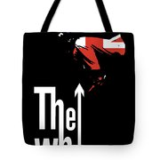 The Who No.01 Tote Bag by Caio Caldas