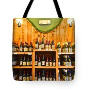 The Wine Cellar Tote Bag by Frozen in Time Fine Art Photography