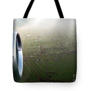 The World From Above. Holland Tote Bag by Ausra Paulauskaite