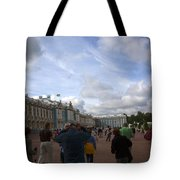 They Come To Catherine Palace - St. Petersburg - Russia Tote Bag by Madeline Ellis