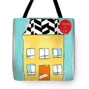 Thinking Of You card Tote Bag by Linda Woods