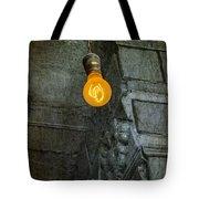 Thomas Edison Lightbulb Tote Bag by Susan Candelario