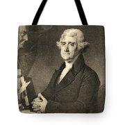 Thomas Jefferson Tote Bag by American School