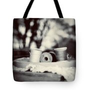 Threads Of Life  Tote Bag by Trish Mistric
