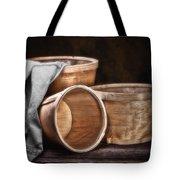 Three Basket Stil Life Tote Bag by Tom Mc Nemar