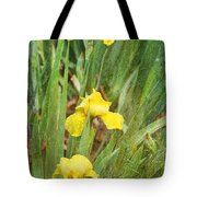 Three In A Row Tote Bag by Joan Bertucci
