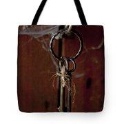 Three Keys Tote Bag by Georgia Fowler