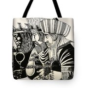 Three Kings Tote Bag by Richard Hook