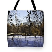 Through The Branches 1 - Central Park - Nyc Tote Bag by Madeline Ellis