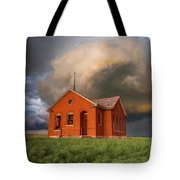 Thunderous Plains Tote Bag by Jill Van Doren Rolo