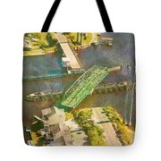 TI Swingin' Swing Bridge Tote Bag by Betsy C  Knapp