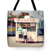 Ticket Booth Tote Bag by K Hines