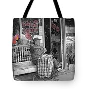 Tickled Pink Tote Bag by Bartz Johnson