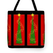 Tidings From Trees Tote Bag by Lisa Knechtel