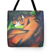Tiger Tote Bag by Tracey Harrington-Simpson