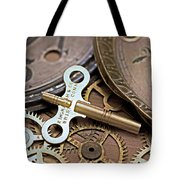 Time Deconstructed Tote Bag by Tom Gari Gallery-Three-Photography