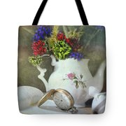Time In A Pocket Tote Bag by Diana Angstadt