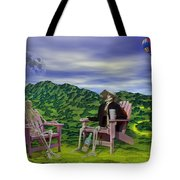Time To Call A Doctor Tote Bag by Betsy C  Knapp