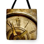 Time Travel Tote Bag by Carol Leigh