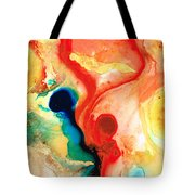 Time Will Tell - Abstract Art By Sharon Cummings Tote Bag by Sharon Cummings