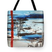 Timeline Tote Bag by Andrea Anderegg