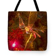Tinker Bell Christmas Tree Landing Tote Bag by James BO  Insogna