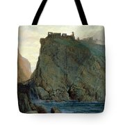 Tintagel On The Cornish Coast Tote Bag by W T Richards
