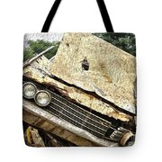 Tired And Broken Tote Bag by Crystal Harman