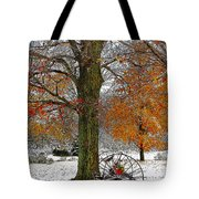 To Everything There Is A Season... Tote Bag by Diane E Berry