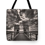 To The Bridge Tote Bag by Ron Shoshani