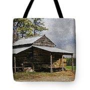 Tobacco Barn In North Carolina Tote Bag by Benanne Stiens
