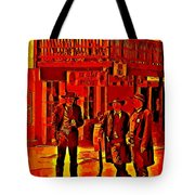 Tombstone Heat Tote Bag by John Malone