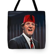 Tommy Cooper Tote Bag by Paul Meijering