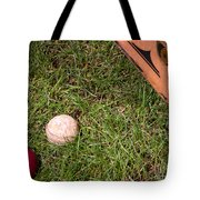 Tools Of The Game  Tote Bag by Tom Gari Gallery-Three-Photography