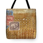 Torn And Burned Tote Bag by Carol Leigh