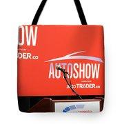 Toronto Autoshow Tote Bag by Valentino Visentini