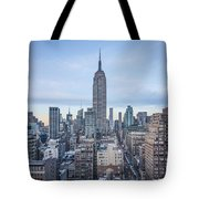Touch The Sky Tote Bag by Evelina Kremsdorf