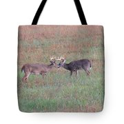 Touching Moment Tote Bag by Dan Sproul